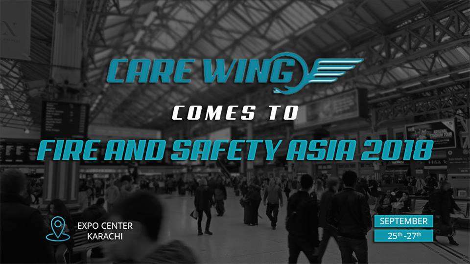 Care Wing is participating in Fire & Safety Asia Conference & Exhibition 2018